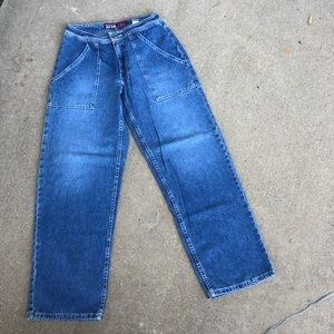 Old Navy Vintage style Carpenter mom jeans